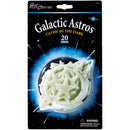 Glow-In-The-Dark Star Packs-Galactic Astros 20/Pkg