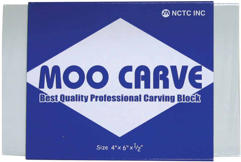 "Moo Carving Block-4""X6""X.5"" - Pens N More"