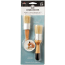 "FolkArt Home Decor Paint & Wax Brush Set-1-1/8"" Width - Pens N More"