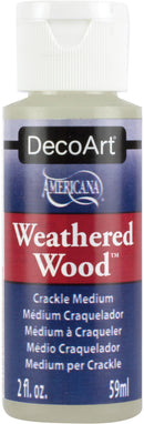 Weathered Wood Crackling Medium-2oz