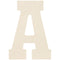 "Baltic Birch Collegiate Font Letters & Numbers 13""-A - Pens N More"