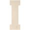 "Baltic Birch Collegiate Font Letters & Numbers 13""-I - Pens N More"