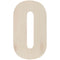 "Baltic Birch Collegiate Font Letters & Numbers 13""-O - Pens N More"