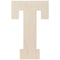 "Baltic Birch Collegiate Font Letters & Numbers 13""-T - Pens N More"