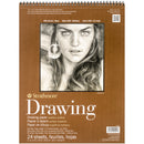 "Strathmore Medium Drawing Spiral Paper Pad 11""X14""-24 Sheets"