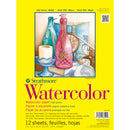 "Strathmore Watercolor Paper Pad 9""X12""-12 Sheets"