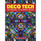 Dover Publications-Deco Tech Geometric Coloring Book - Pens N More