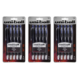 Uni-Ball Signo 207 Retractable Gel Pen, 1.0mm, Bold Point, Blue Ink, 15-Count