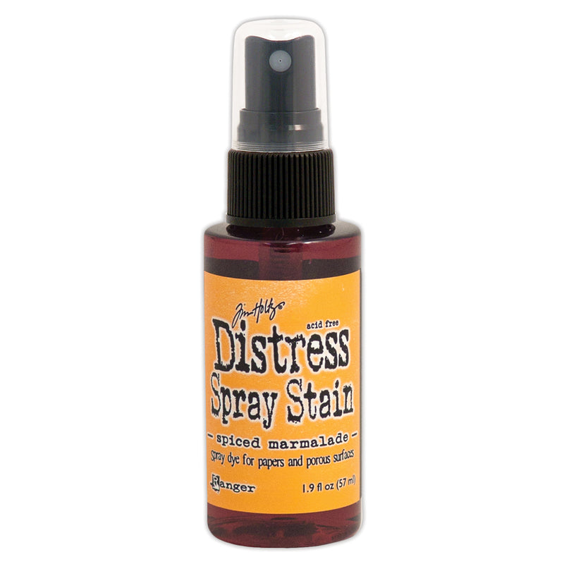 Tim Holtz Distress Spray Stain 1.9oz-Spiced Marmalade - Pens N More