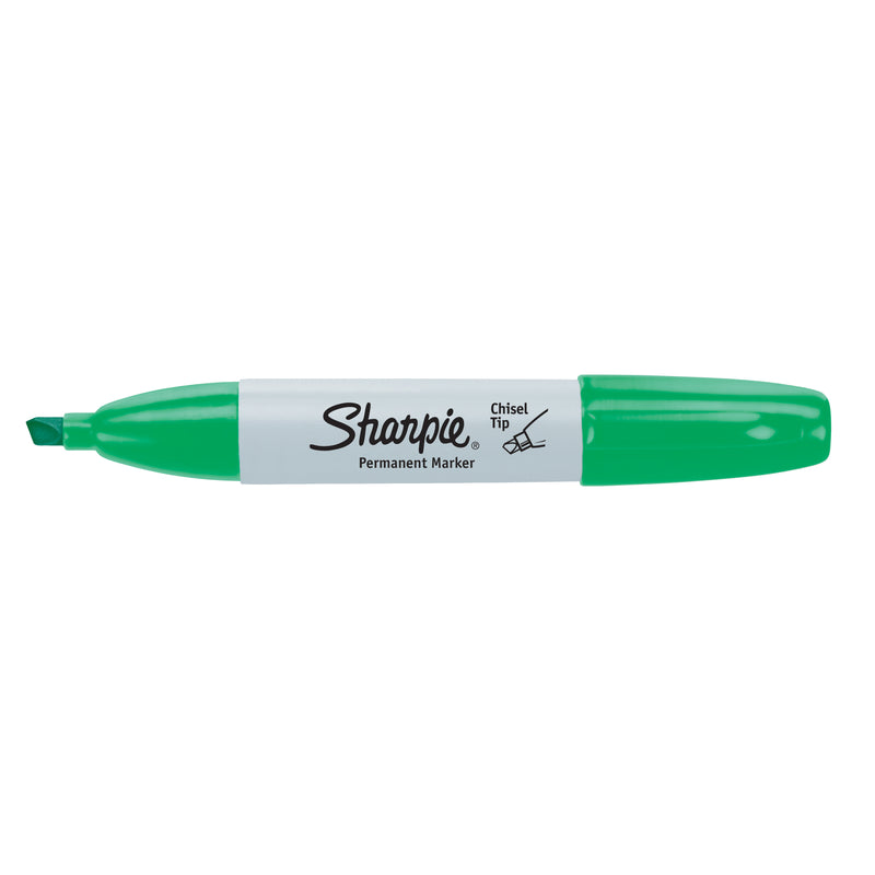 Sharpie Chisel Tip Permanent Marker Open Stock-Green