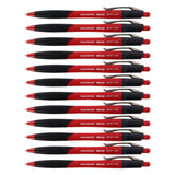 Paper Mate InkJoy 500RT Retractable Ball Point Pen, 1.0mm, Medium Point, Red Ink, Pack of 12