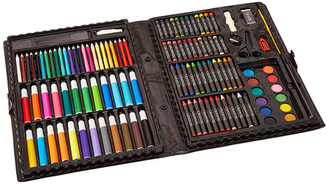 Darice Artyfacts Portable Studio Deluxe Art Set-120 Pieces