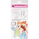 Art Impressions Girlfriends Cling Rubber Stamps -Picture Perfect Set - Pens N More