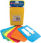"Bright Pressure Sensitive Pockets 3.5""x5"" 30/Pkg-6 Ea/Red, Blue, Yellow, Green & Orange"