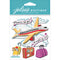 Jolee's Boutique Dimensional Stickers-Airplane