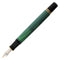 Pelikan Souveran M400 Black/Green Fountain Pen - Medium Nib