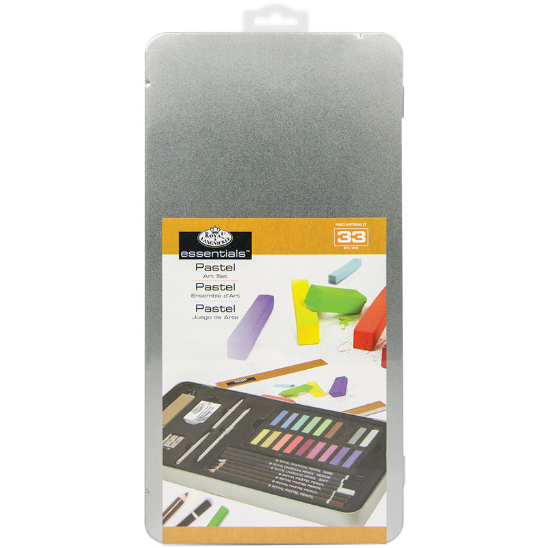 essentials(TM) Pastel Artist Set W/Tin- - Pens N More