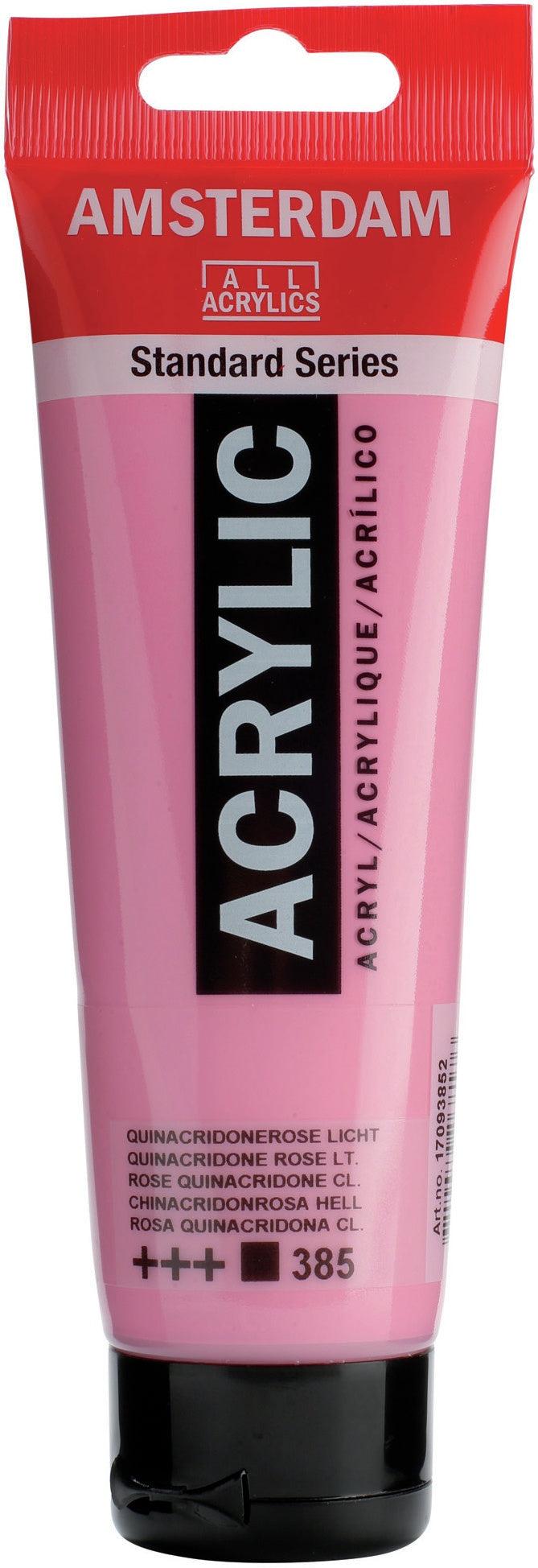 Amsterdam Standard Acrylic Paint 120ml-Quinacridone Rose Light