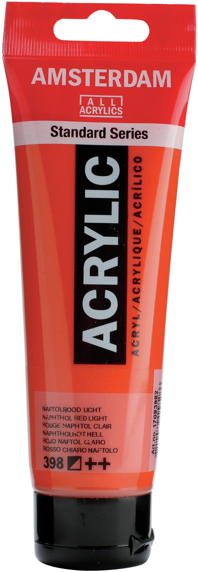 Amsterdam Standard Acrylic Paint 120ml-Naphthol Red Light
