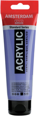 Amsterdam Standard Acrylic Paint 120ml-Ultramarine Violet Light