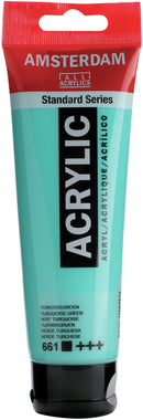 Amsterdam Standard Acrylic Paint 120ml-Turquoise Green