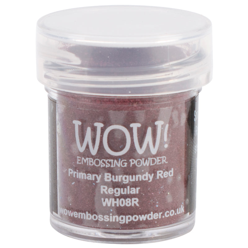 WOW! Embossing Powder 15ml-Primary Burgundy Red - Pens N More