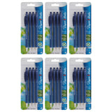 Paper Mate FlexGrip Ultra Retractable Ball Point Pens, 0.8mm, Fine Point, Blue Ink, 24-Count