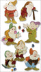 Disney Dimensional Stickers-7 Dwarves