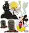 Disney Dimensional Stickers-Vacation Haunted House Mickey