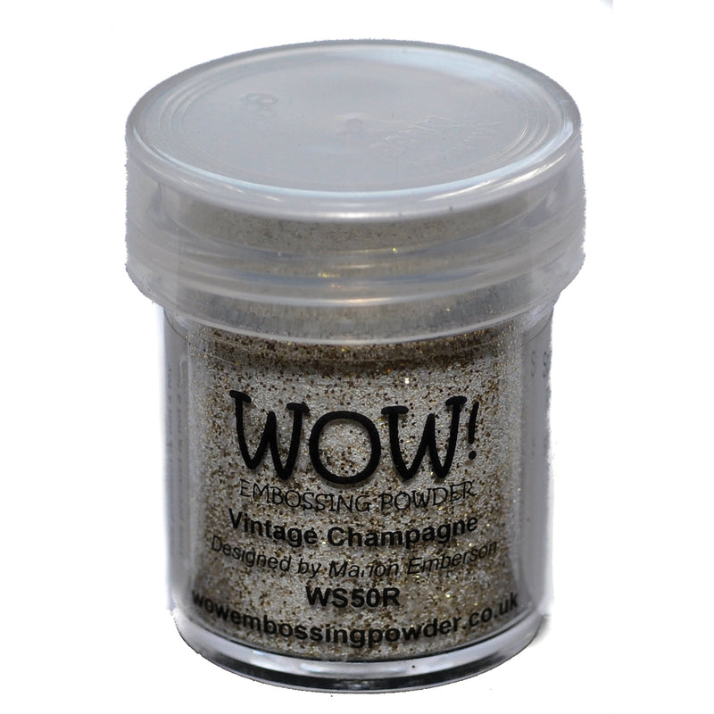 WOW! Embossing Powder 15ml-Vintage Champagne - Pens N More