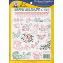 Aunt Martha's Iron-On Transfer Collection-Happy Holidays - Pens N More