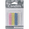 "Magic Relight Birthday Candles 2.5"" 12/Pkg-Assorted Color Spirals"