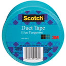 "Scotch Solid Duct Tape 1.88""X20yd-Turquoise - Pens N More"