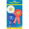"Award Ribbons 6"" 3/Pkg-1st, 2nd & 3rd Place"