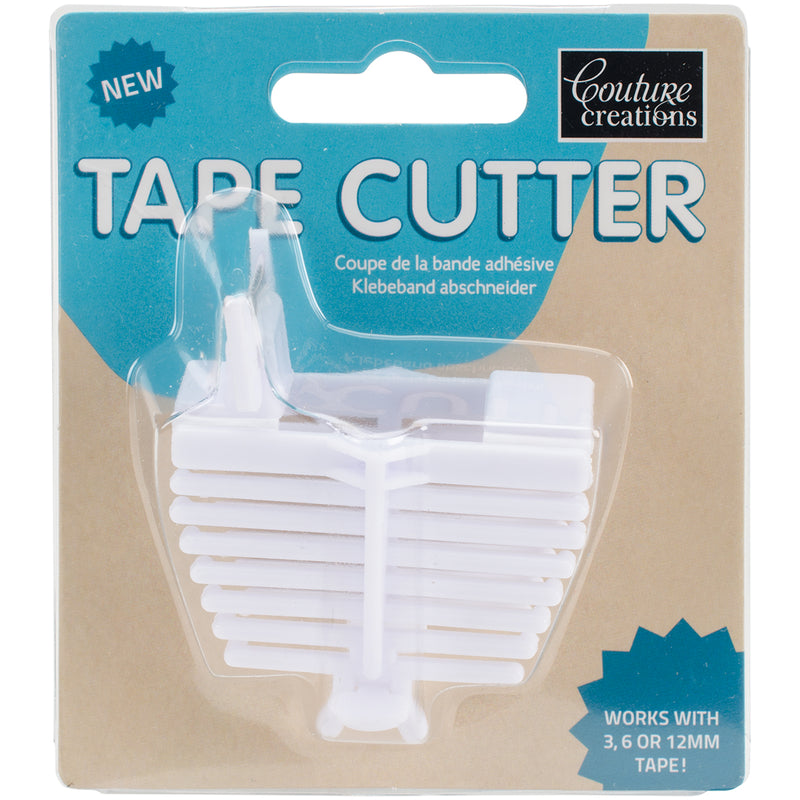 Couture Creations Tape Cutter-White - Pens N More