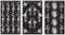 "Rub 'N' Etch Designer Stencils 5""X8"" 3/Pkg-Rose Designs - Pens N More"