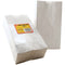 "Hygloss Gusseted Flat Bottom Bags 4.5""X2.5""X8.5"" 100/Pkg-White"