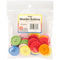 Bright Wooden Buttons Assorted Colors-30mm 25/Pkg - Pens N More