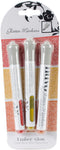Nuvo Glitter Markers 3/Pkg-Ember Glow - Pens N More
