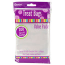 "Treat Bags 3.75""X6"" 200/Pkg-Clear"