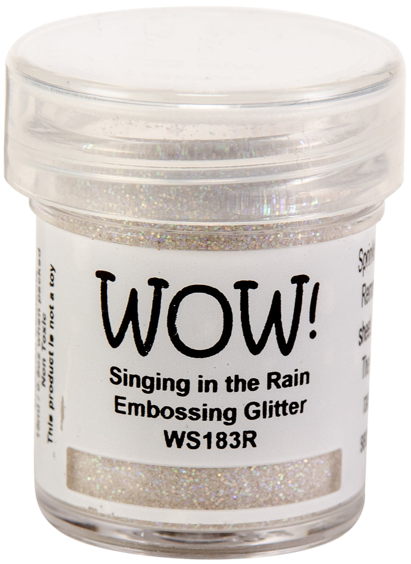 WOW! Embossing Powder 15ml-Singing In The Rain