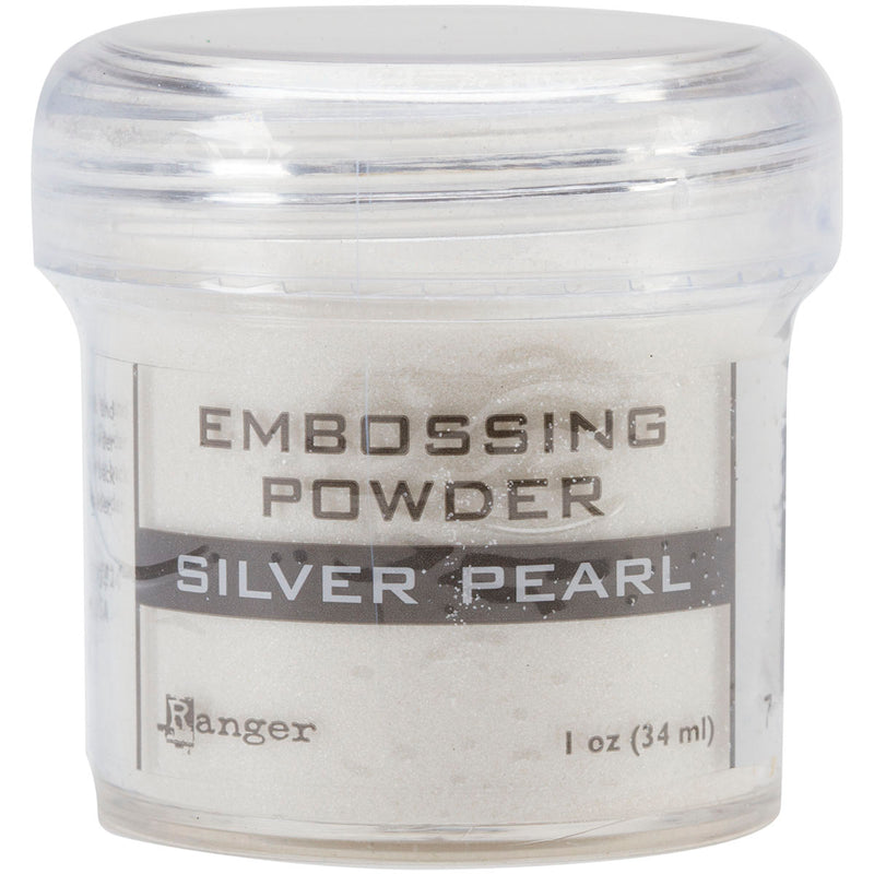 Ranger Embossing Powder-Silver Pearl