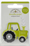 Doodlebug Doodle-Pops 3D Stickers-Trusty Tractor