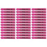 Sharpie Accent Tank Highlighter, Chisel Tip, Pink, 36-Count