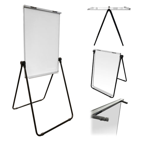 Thornton's Office Supplies Double Sided Magnetic Dry Erase Board Flip Chart, 39 x 27