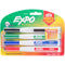 Expo Magnetic Dry Erase Fine Marker With Eraser 4/Pkg-Assorted