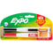 Expo Magnetic Dry Erase Fine Marker With Eraser 2/Pkg-Black & Red