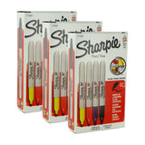 Sharpie Permanent Markers. Fine Point, Assorted Colors, Pack of 36