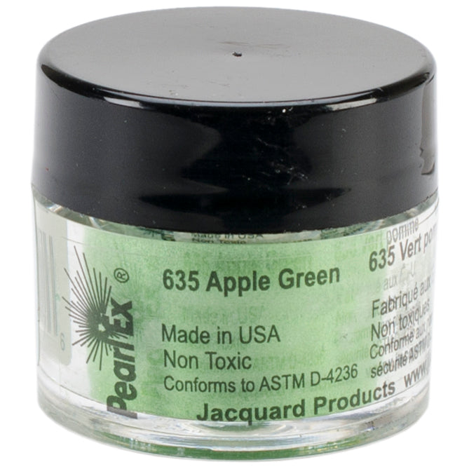 Jacquard Pearl Ex Powdered Pigment 3g-Apple Green
