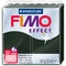 Fimo Effect Polymer Clay 2oz-Black Pearl